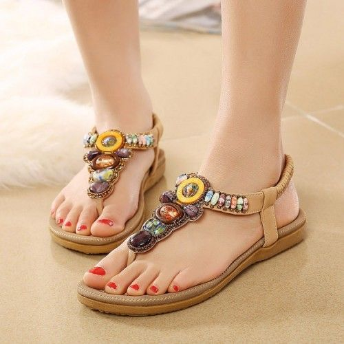 sandal đính đâ, sandal dinh da
