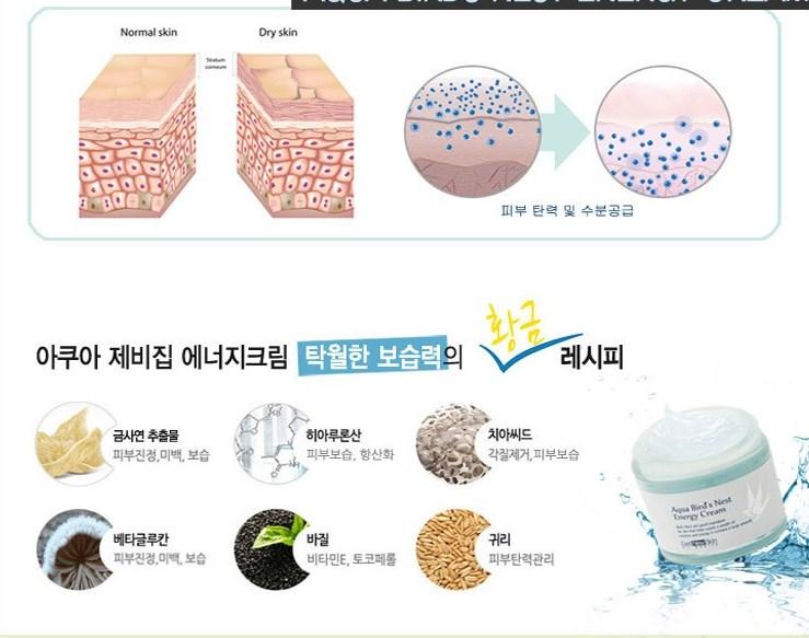 Aqua Bird's Nest Energy Cream