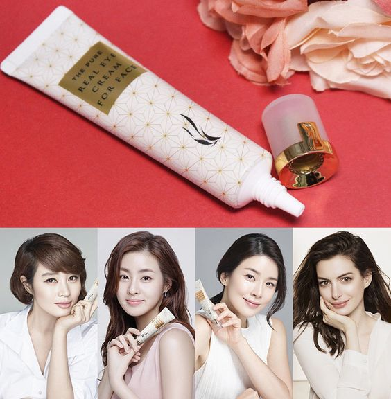 kem mắt AHC Pure Real Eye Cream For Face