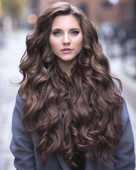 Mẫu tóc dài đẹp