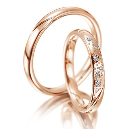 Mẫu nhẫn cưới đẹp nhất cho các cặp đôi