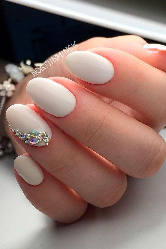 mẫu nail cô dâu