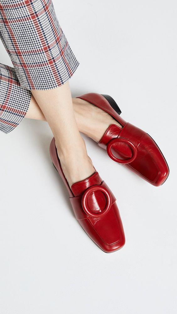 Giày mũi vuông, giay mui vuong