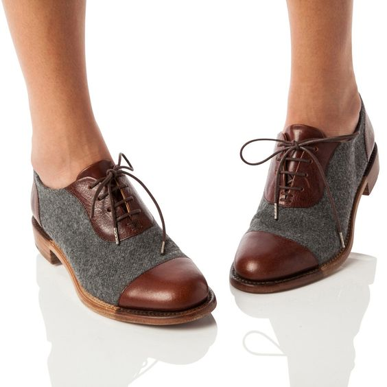 giày oxford nữ, giay oxford nu