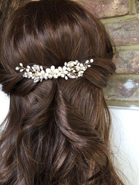 phụ kiện tóc cho cô dâu, phu kien toc cho co dau
