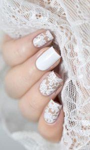 Những mẫu nail tuyệt đẹp cho cô dâu ngày cưới thêm phần lộng lẫy