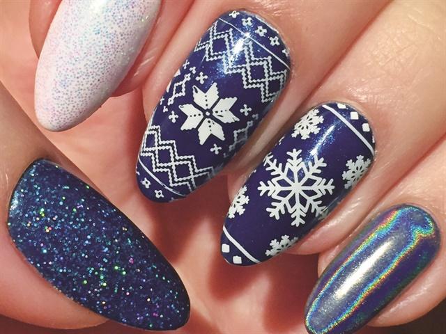 10 ý tưởng nail ấn tượng cho mùa đông này | Blogulamdep.com