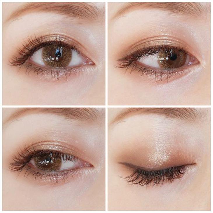 trang điểm mắt tự nhiên