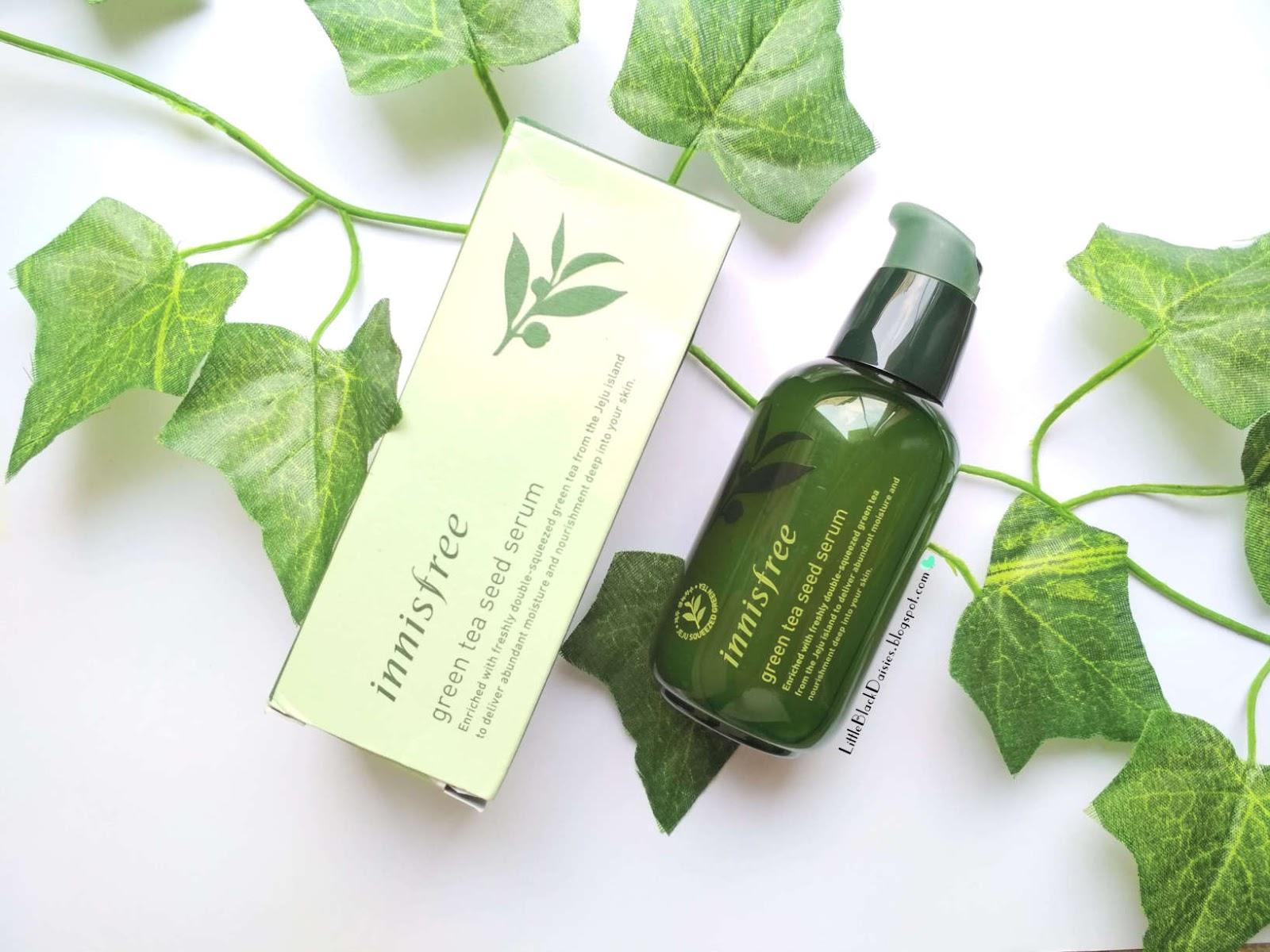 Kết quả hình ảnh cho Review serum Green Tea của Innisfree