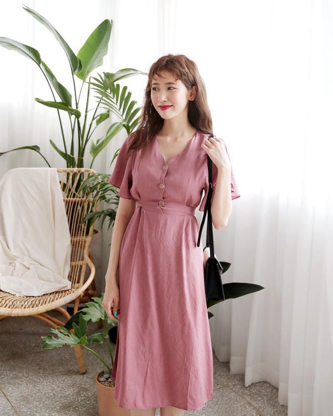 bí quyết chọn váy dáng dài