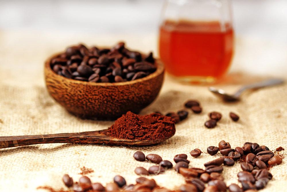 công thức tẩy tế bào chết từ cà phê