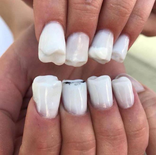 thiết kế nail độc lạ