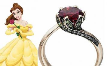nhẫn lấy cảm hứng từ các công chúa Disney, nhan lay cam hung tu cac cong chua Disney