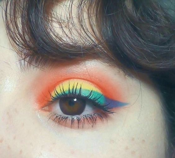 gam màu không thể bỏ qua khi make up mắt, gam mau khong the bo qua khi make up mat