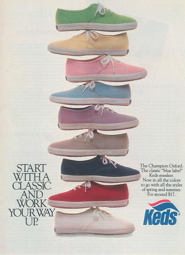 mẫu giày Keds ấn tượng, mau giay Keds an tuong