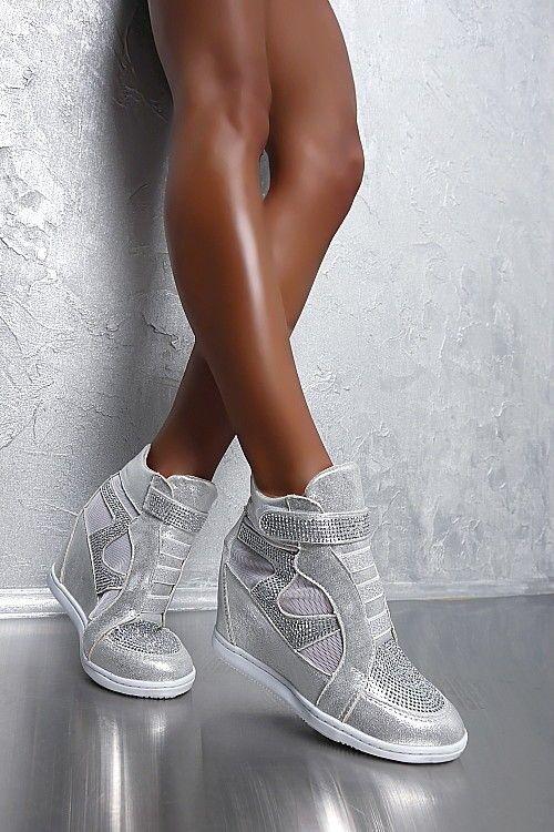 giày thể thao độn đế, giay the thao don de